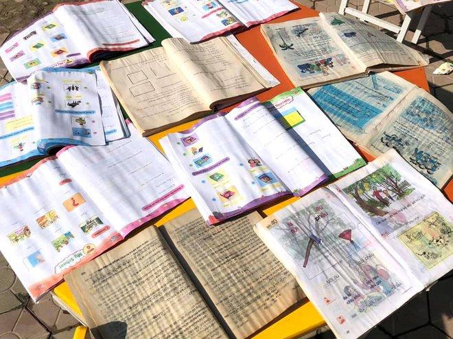 Lũ đi qua, hàng loạt học sinh ở Hà Tĩnh thiếu sách vở đến trường - Ảnh 7.