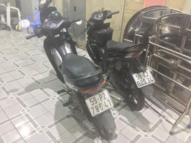 Nhóm cướp giật bị bắt nhờ camera an ninh ở Sài Gòn - Ảnh 2.