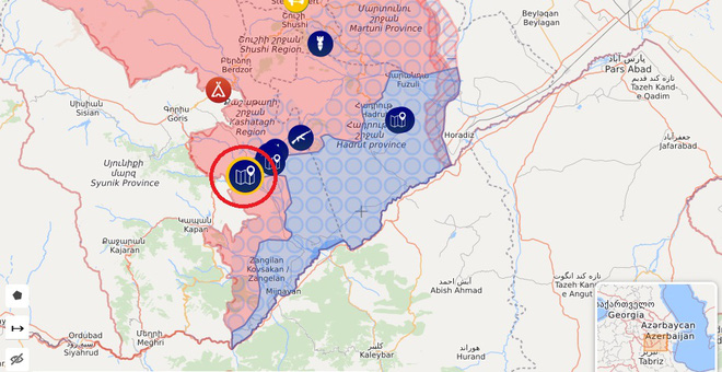Chiến sự Azerbaijan và Armenia vẫn quyết liệt, Nga đột ngột ra tay - Đặc nhiệm Anh đột kích tàu dầu - Ảnh 2.