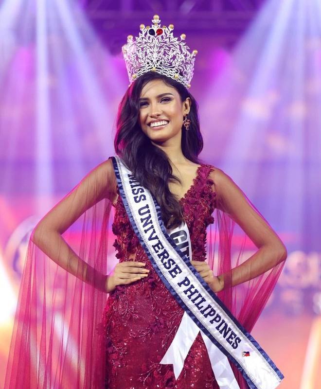 Nhan sắc ngọt ngào, quyến rũ của người đẹp lai đăng quang Hoa hậu Hoàn vũ Philippines - Ảnh 1.