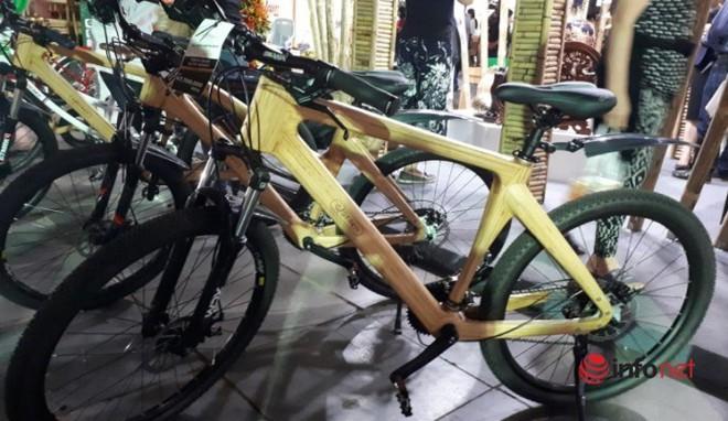 Giật mình chiếc xe đạp khung tre có giá đắt ngang xe máy tay ga - Ảnh 3.