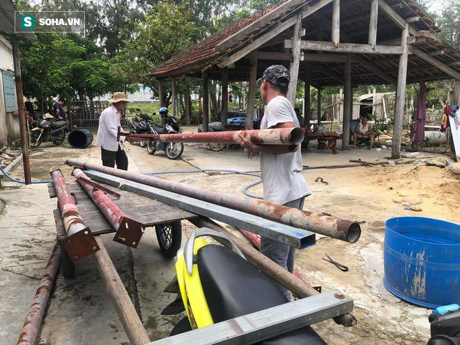 Căn hầm tránh bão số 9 độc lạ, nằm sâu dưới lòng cát của người dân vùng biển Quảng Nam - Ảnh 2.
