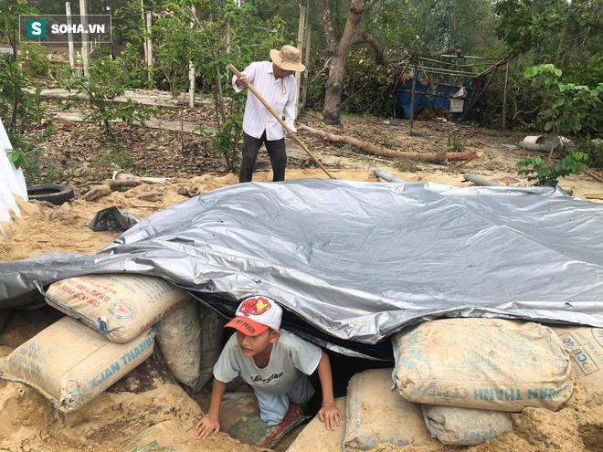 Căn hầm tránh bão số 9 độc lạ, nằm sâu dưới lòng cát của người dân vùng biển Quảng Nam - Ảnh 8.