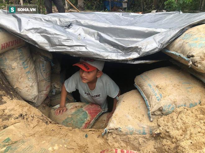 Căn hầm tránh bão số 9 độc lạ, nằm sâu dưới lòng cát của người dân vùng biển Quảng Nam - Ảnh 13.