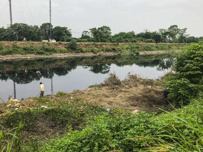 Gia đình tìm kiếm nữ sinh ngân hàng mất tích dọc bờ sông Nhuệ - Ảnh 3.