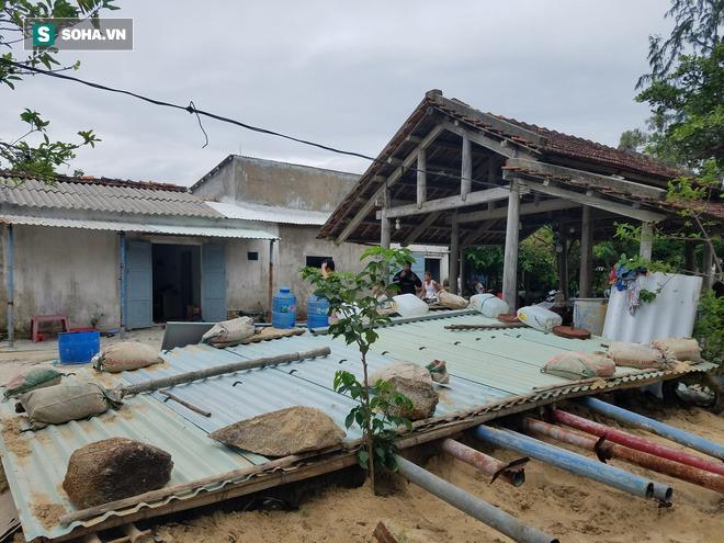 Căn hầm tránh bão số 9 độc lạ, nằm sâu dưới lòng cát của người dân vùng biển Quảng Nam - Ảnh 6.