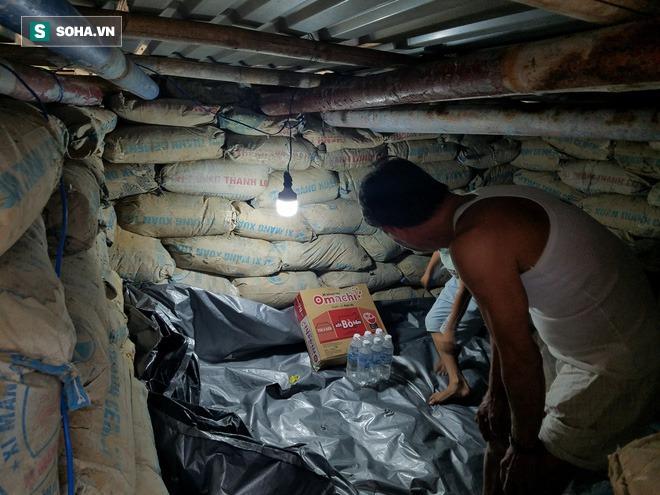 Căn hầm tránh bão số 9 độc lạ, nằm sâu dưới lòng cát của người dân vùng biển Quảng Nam - Ảnh 10.