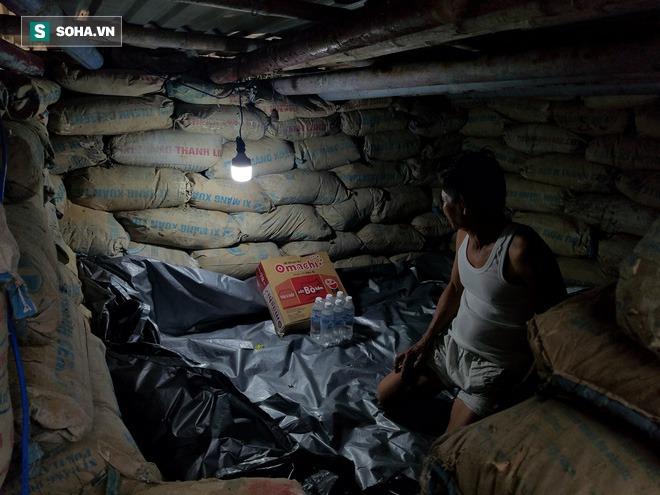 Căn hầm tránh bão số 9 độc lạ, nằm sâu dưới lòng cát của người dân vùng biển Quảng Nam - Ảnh 11.