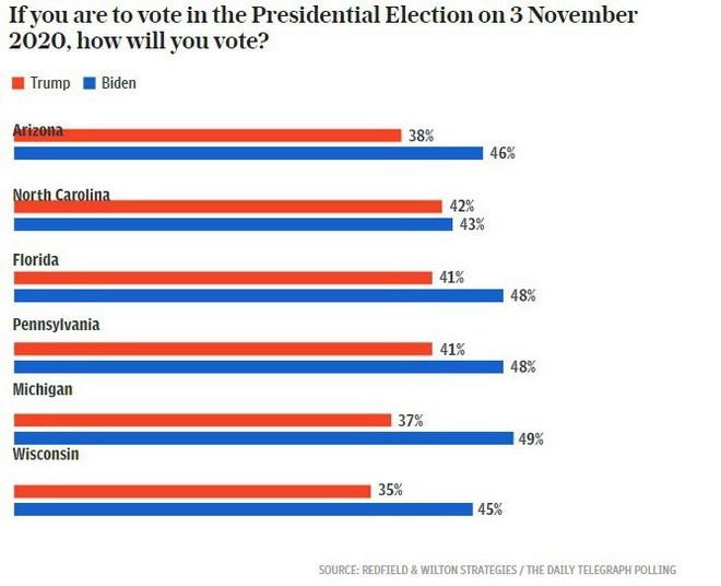 Cục diện bầu cử Mỹ hiện đang ra sao nhìn từ các bang có tính quyết định? - Ảnh 2.
