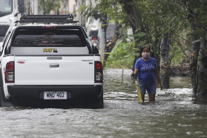 Bão Molave gây thiệt hại diện rộng tại Philippines - ảnh 1