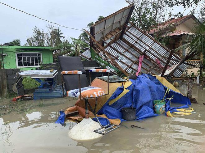 Bão Molave gây thiệt hại diện rộng tại Philippines - ảnh 2