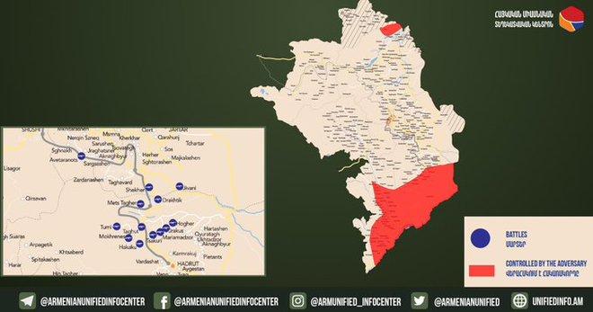 Armenia phản công trên khắp các hướng của mặt trận - Iran tính ra đòn mạnh tay ở biên giới Karabakh? - Ảnh 2.