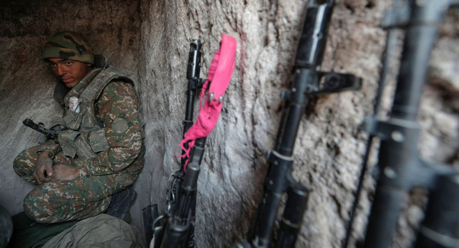 Armenia phản công trên khắp các hướng của mặt trận - Iran tính ra đòn mạnh tay ở biên giới Karabakh? - Ảnh 3.