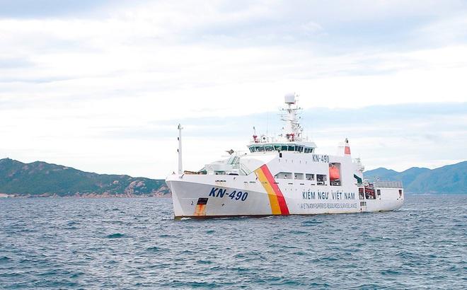 5 tàu Kiểm ngư, 2 thủy phi cơ của hải quân hoạt động liên tục tìm kiếm 26 ngư dân mất tích