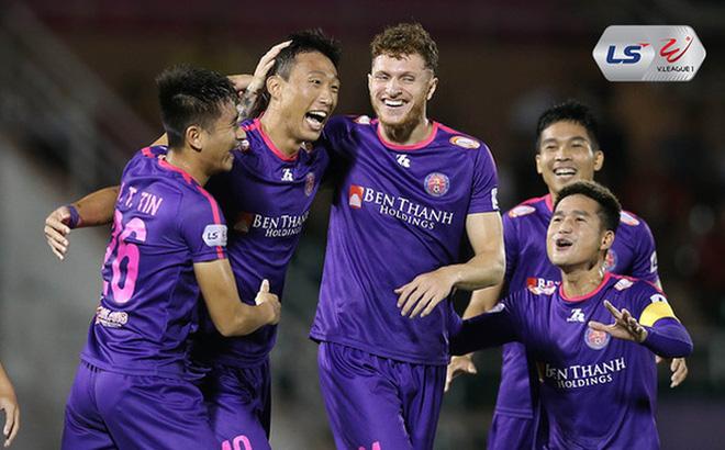 Hạ gục địch thủ, CLB Sài Gòn gây áp lực cực lớn lên Hà Nội FC ở cuộc đua vô địch V.League