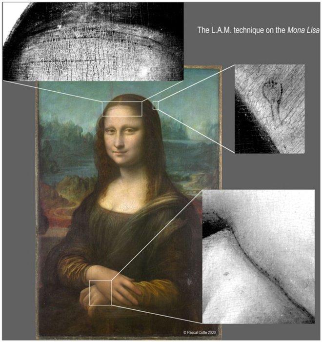 Phát hiện kinh ngạc trong bức họa Mona Lisa của Da Vinci: 16 năm không ai tìm ra! - Ảnh 1.