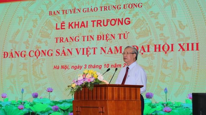 Khai trương trang tin chính thức về Đại hội Đảng lần thứ XIII - Ảnh 2.