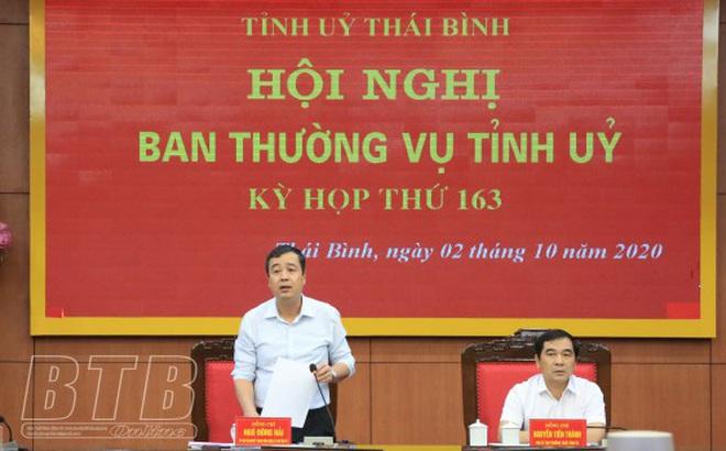 Thái Bình điều động, bổ nhiệm 5 cán bộ lãnh đạo chủ chốt