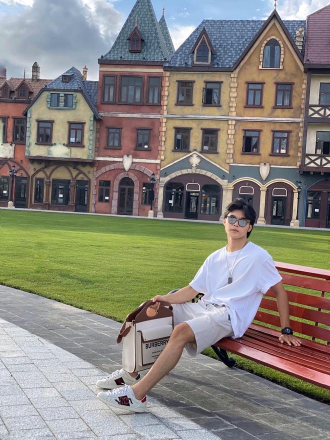 Em trai ruột Hoà Minzy: Cuộc sống như mơ nhờ chị gái và mối quan hệ với anh rể đại gia - Ảnh 6.