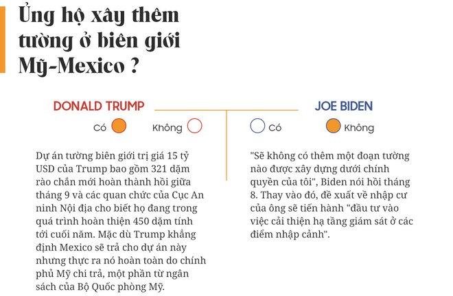 Yes or No: Cuộc chiến về chính sách giữa Donald Trump và Joe Biden - Ảnh 23.