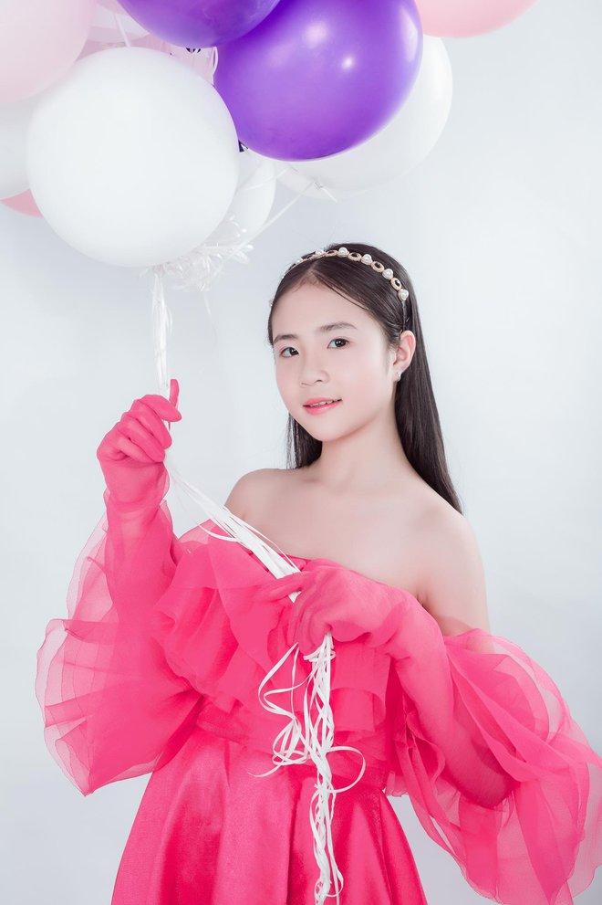 Mẫu nhí Phan Trang Anh xinh đẹp, cá tính - Ảnh 1.