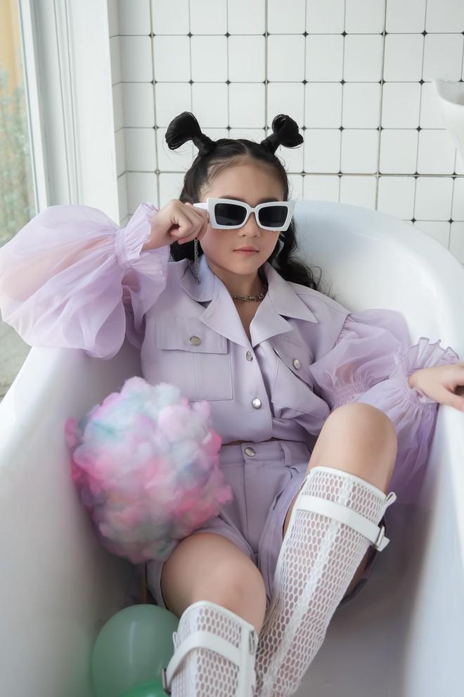 Mẫu nhí Phan Trang Anh xinh đẹp, cá tính - Ảnh 7.