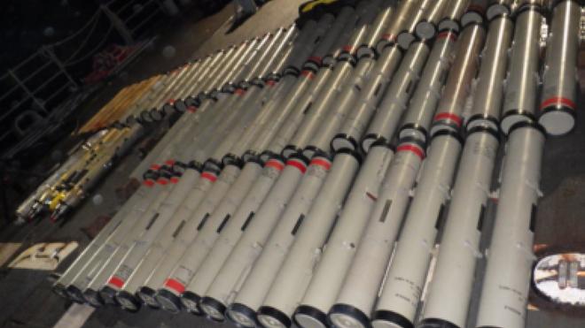Mỹ bắt giữ số lượng lớn vũ khí của Iran: Nhiều chưa từng thấy - Ảnh 2.