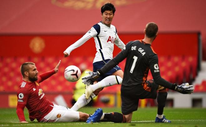 """Man United 1-6 Tottenham: Son Heung-min ghi cú đúp, """"nhấn chìm"""" Man United"""