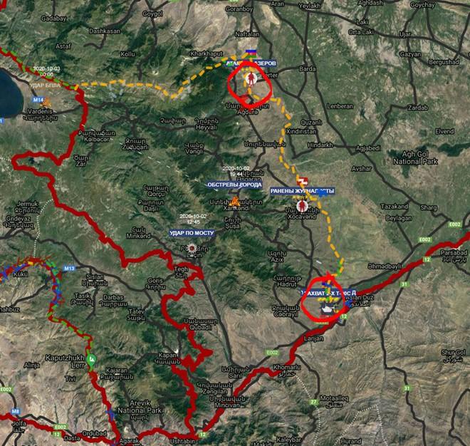 Chiến sự Armenia-Azerbaijan: Lửa cháy gần nhà Nga sẵn sàng ra tay, thiên hạ sẽ bái phục? - Ảnh 3.