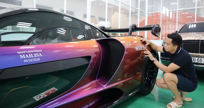 Chiều vợ như đại gia Hoàng Kim Khánh: Đích thân trang trí siêu phẩm McLaren Senna và một loạt siêu xe nhân dịp sinh nhật bà xã - Ảnh 5.