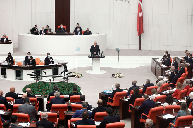 Công khai ủng hộ Azerbaijan ở Nagorno-Karabakh, ông Erdogan đang thử thách lòng kiên nhẫn của ông Putin? - Ảnh 2.