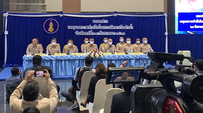 Tư lệnh hải quân Thái Lan bị nghi qua mặt Bangkok, gửi mật thư cho Trung Quốc nói gì? - Ảnh 2.