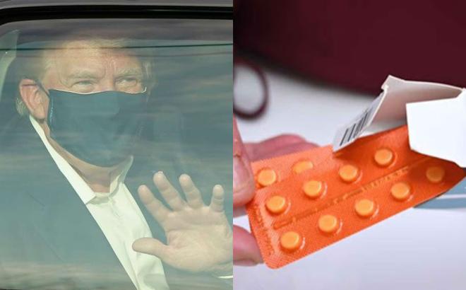 Tổng thống Trump được dùng thuốc dành cho bệnh nhân COVID-19 nặng: Dấu hiệu đáng lo ngại?