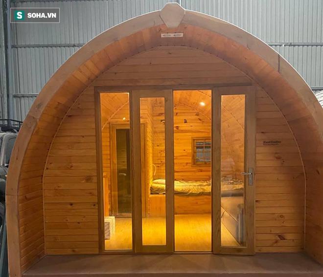 Nhà gỗ di động giá từ 120 triệu đồng, nội thất long lanh, thi công thần tốc gây sốt - Ảnh 1.