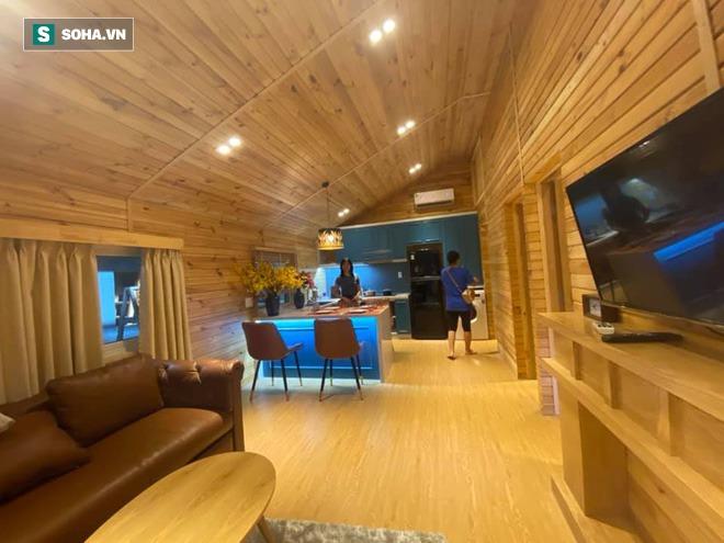 Nhà gỗ di động giá từ 120 triệu đồng, nội thất long lanh, thi công thần tốc gây sốt - Ảnh 4.