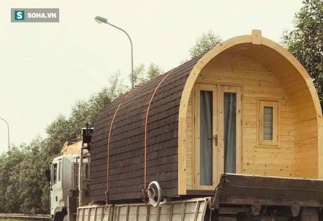 Nhà gỗ di động giá từ 120 triệu đồng, nội thất long lanh, thi công thần tốc gây sốt - Ảnh 7.