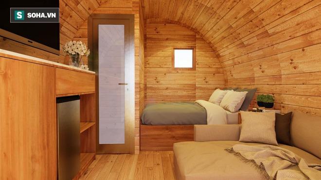 Nhà gỗ di động giá từ 120 triệu đồng, nội thất long lanh, thi công thần tốc gây sốt - Ảnh 3.