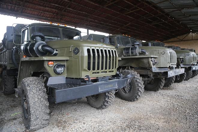 Iran điều hàng trăm xe tăng, sẵn sàng tiếp ứng Armenia - Lộ diện vũ khí giội bão lửa xuống căn cứ Azerbaijan ở Ganja? - Ảnh 9.