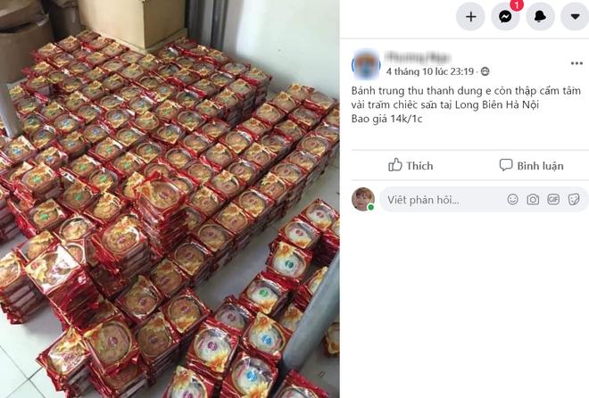 Xếp hàng chờ mua bánh Trung thu truyền thống thanh lý 14.000 đồng/chiếc - Ảnh 1.