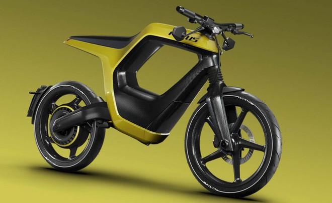 Xe máy điện kiểu dáng lạ, giá bán ngang ôtô - Ảnh 3.
