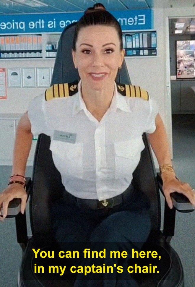Bị mỉa mai vì là phụ nữ, nữ thuyền trưởng đáp trả sâu cay, dân mạng hết lời khen ngợi - Ảnh 13.