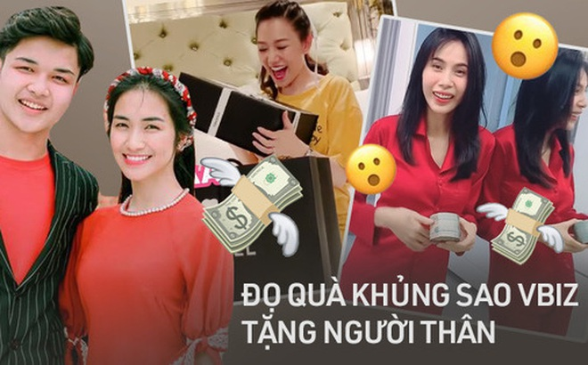 """Khi sao Vbiz chi """"khủng"""" tặng người nhà: Tuấn Hưng đổi xế 4 tỷ vì bà xã mỏi lưng, Hari Won khiến Trấn Thành """"hết hồn"""" vì quà gì?"""