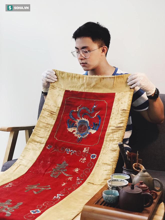 Mua giày Converse nổi tiếng của nước ngoài, vẽ thêm hoa văn Việt Nam, chàng trai bán giá 15 triệu đồng/đôi - Ảnh 6.