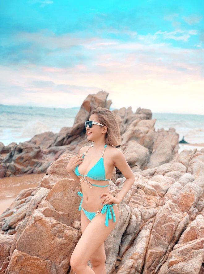 Hot girl Trâm Anh khoe đường cong nóng bỏng - Ảnh 2.