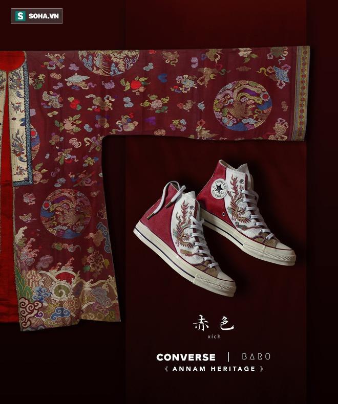 Mua giày Converse nổi tiếng của nước ngoài, vẽ thêm hoa văn Việt Nam, chàng trai bán giá 15 triệu đồng/đôi - Ảnh 13.