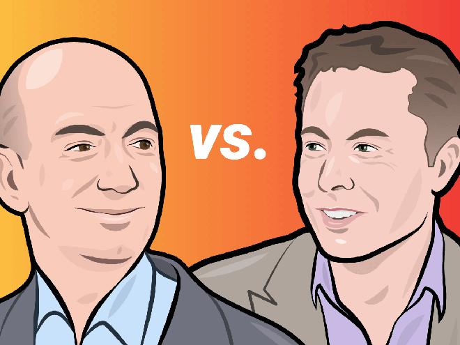 Lưu Bang Musk và Hạng Vũ Bezos: Tân Hán Sở tranh hùng cam go ngay trên đất Mỹ? - Ảnh 1.