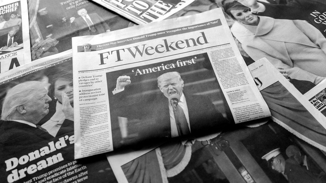 Truyền thông trong bầu cử Mỹ: Xoay như chong chóng, viết mãi không hết bài và cuộc chiến với fake news - Ảnh 6.