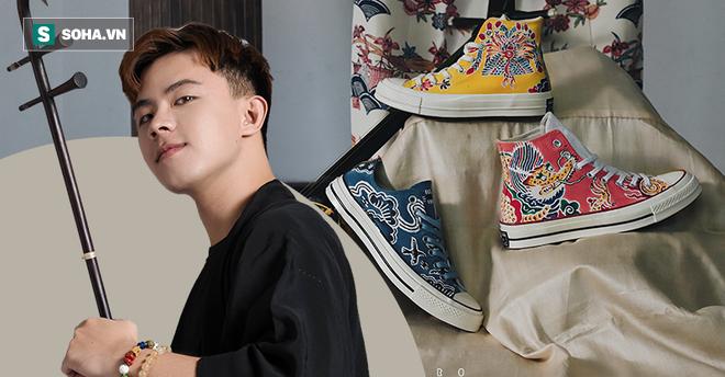 Mua giày Converse nổi tiếng của nước ngoài, vẽ thêm hoa văn Việt Nam, chàng trai bán giá 15 triệu đồng/đôi - Ảnh 16.