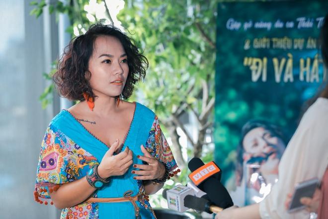 Thái Thùy Linh mất 3 năm cho Du ca - đi và hát - Ảnh 1.