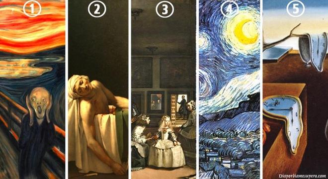 Khám phá tính cách qua những bức họa nổi tiếng thế giới - Bạn thích bức tranh số mấy? - Ảnh 1.